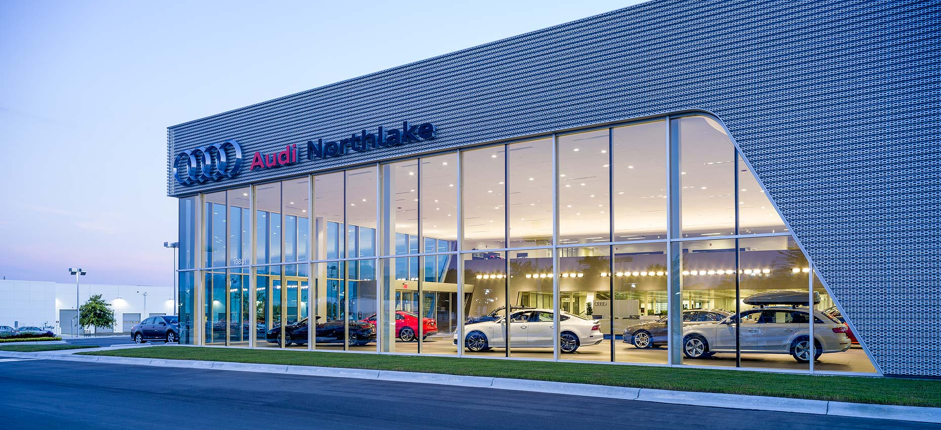 North Carolina Architectural Photographer Charlotte Architectural - Audi of northlake